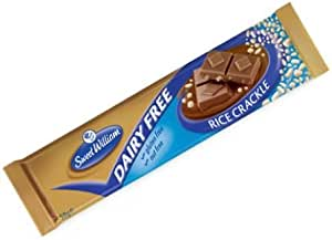 Sweet William Chocolate Bar with Rice Crackle 50 g