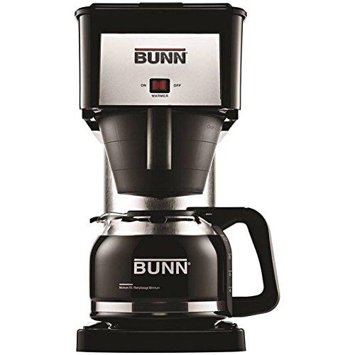 Bunn Coffeemaker 10 Cup Black & Stainless Steel