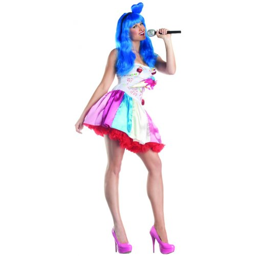 Candy Girl Costume - Large - Dress Size (Katy Perry Candy)