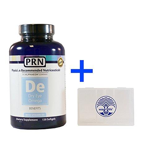 Médecin recommandé nutriceutiques PRN Omega bénéficie de poisson huile 120 gélules + voie libre du titulaire de pilule 5 jours de vie