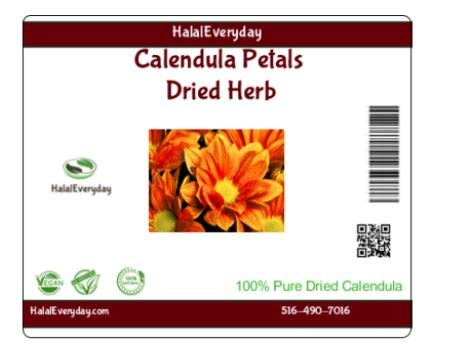 (Calendula Petals, Dried Herb, 1 Oz 100% Natural No Additives)