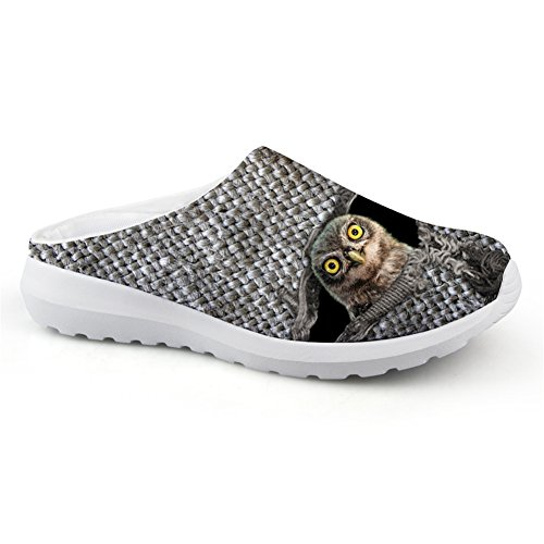 Casual Mesh Lightweight for US5 Grey Summer 11 Slipper Unisex Adult Shoes grey5 Sandals Mules Nopersonality pqdwFW8d