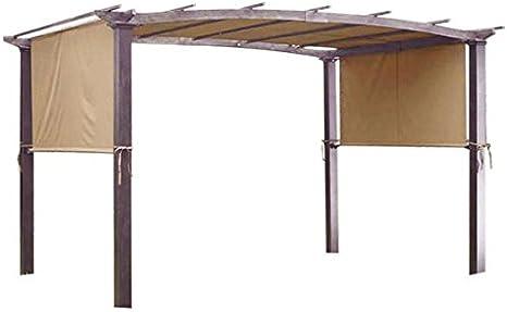 Ampersand Top calidad Pergola toldo cubierta de repuesto para 17 x 6,5 m, canela