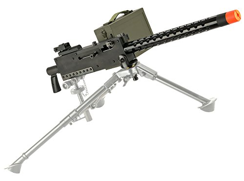 Evike EMG M1919 WWII American Automatic Squad Support Weapon Airsoft AEG - Gun Only - (32930)