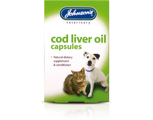 Johnsons Veterinary Products Cod Liver Capsules, 170 Capsules
