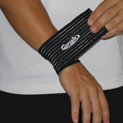 Captain Sports Elastic Wrist Wrap (Captain Elastic Sports Wrap Wrist)