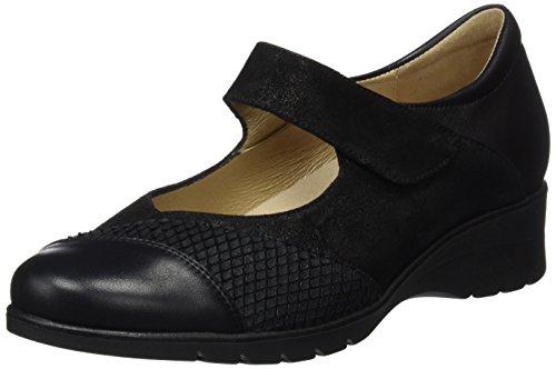 Femme Merceditas Noir noir Pour 175957 Piesanto qgfaO6