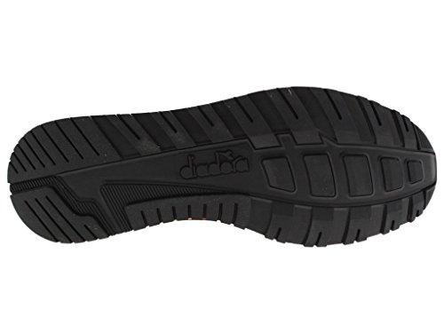 Scarpe Diadora uomo N9000 Premium camoscio e pelle bourdeaux
