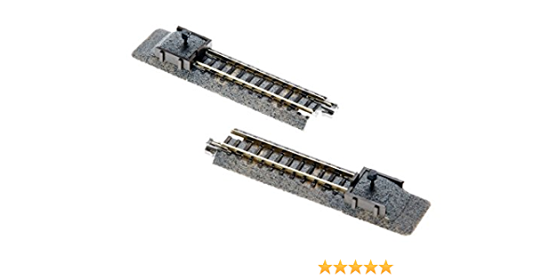 ~ 20-064 1 Pc Kato N UniTrack ~ 66mm 2 5//6″ Illuminated Track Bumper Type C ~
