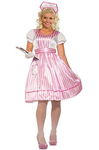 (Forum Novelties Classic Candy Striper, Multi,)