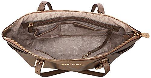 Michael Kors Handbag Jet Set East West Top Zip Tote Dark Dune
