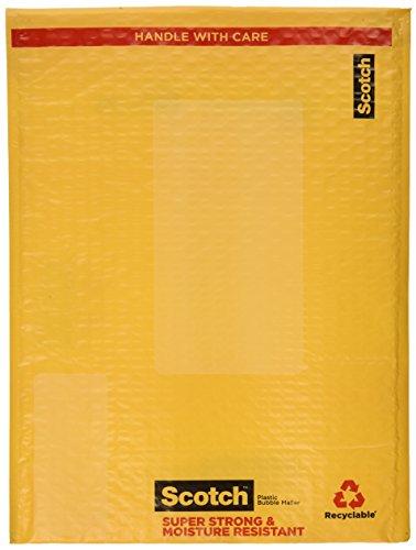 Scotch Smart Mailer, 10.5 in x 15 in, Size #5, 4-Pack (8915-4)