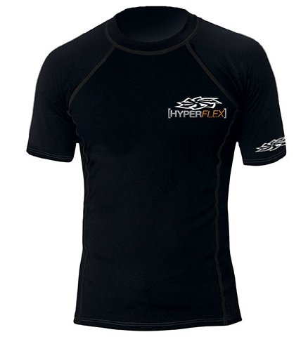 Hyperflex Wetsuits Men's Polyolefin S/S Rash Guard