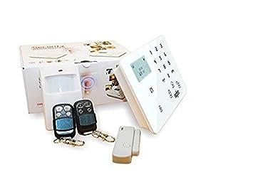 Señor Inteligencia Casa Touch kyepad y inalámbrica GSM ...