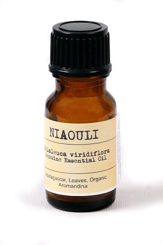 Niaouli Essential Oil -Melaleuca viridiflora 0.35 fl oz - 10 mL (Certified Organic, Leave, Madagascar)