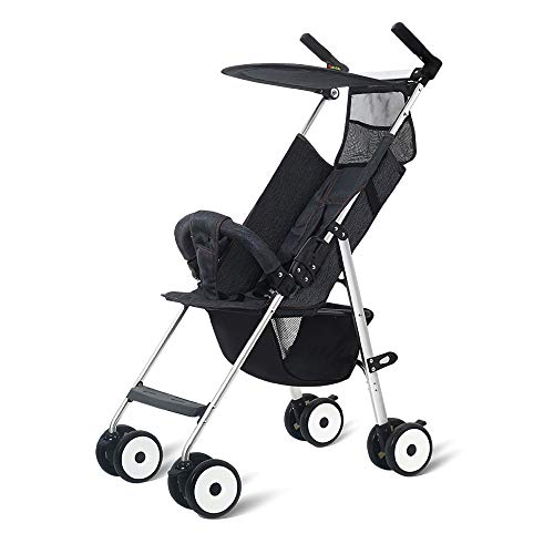 HKJCC Baby Stroller Can Sit and Lie Super Light Portable Folding Children High Landscape Hand Push Simple Can Be on The Plane Pocket Umbrella