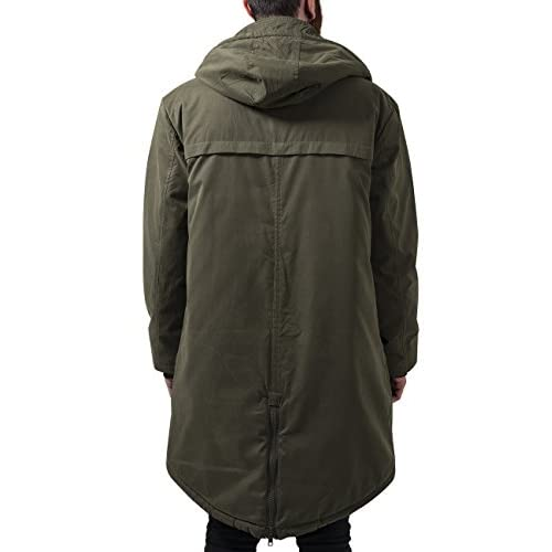 df54ddd17b Urban Classics Cotton Peached Canvas Parka
