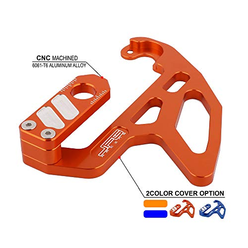 (Motorcycle Rear Brake Disc Guard Cover Protector For KTM Freeride 250 R 15-17 US 14-17 EU AU SXS85 17/14 2015 US Freeride 350 12-17 EU 13-17 AU SX85 13-18 17/14 19/16 15-17 EU)
