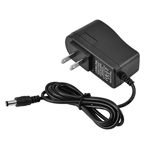 Battery Charger, DC Power Adapter for US Plug 3.6~3.7V 1100~5500mAh Lithium Battery Pack 18650/18490/ 14650/14500/ 14430 Lithium Battery Safe Charging (Black) -