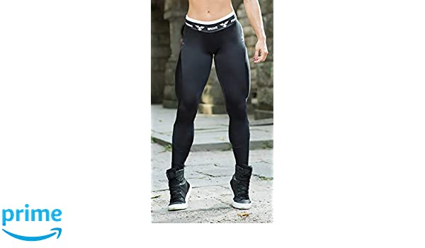 cbd09a37028f0 Brazilian Workout Legging - Apple Booty Black at Amazon Women's Clothing  store: