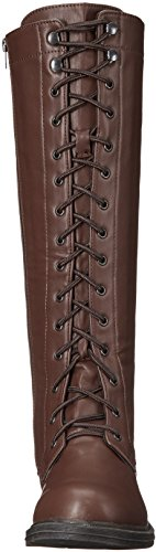 Karina Shoes Boot Ellie Women's Riding 151 Brown 4fnnZSq