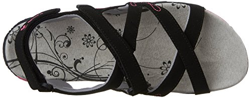 Kamik schwarz bk2 Donna Con black Scarpe Cinturino Tacco Bali Nero A T Col 4qrw64x7v