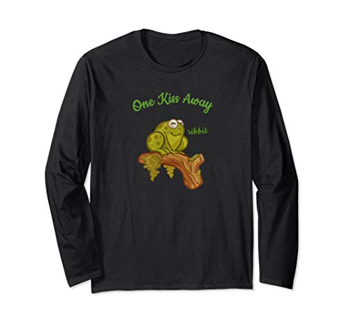 One Kiss Away Ribbit Frog Prince Long Sleeve ()
