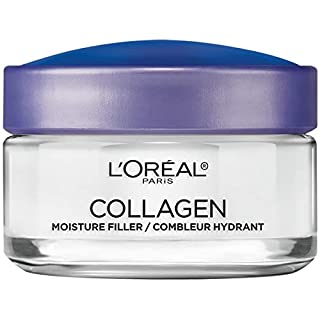 Collagen Face Moisturizer by L'Oreal Paris Skin Care, Day and Night Cream, Anti-Aging Face, Neck and Chest Cream to smooth skin and reduce wrinkles, 1.7 oz