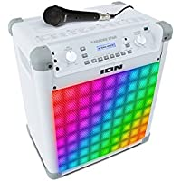 ION Audio Karaoke Star Bluetooth Karaoke Sound System with Microphone
