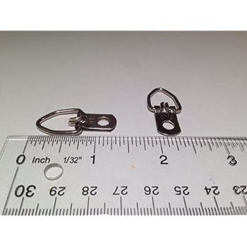 d ring hangers. 100 heavy duty single hole d ring / triangle strap hanger w/ screws hangers