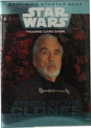 Star Wars Trading Card Game Attack of the Clones Dark Side Starter Deck (Wizards of the Coast) Clones Starter