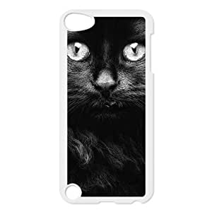 DIYCASETORE Phone Case Lovely Cat Bumper Plastic Customized Case For Ipod Touch 5