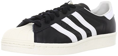 Adidas Mænds Superstar 80'erne, Sort1 / Wht / Chalk2, 8 M Os