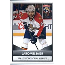 2016-17 Panini NHL #9 Masterton Trophy Winner ~ Jaromir Jagr 2015-16 NHL Awards Hockey Sticker