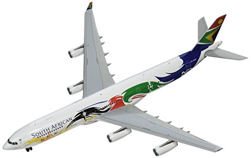 Airlines South 200 African - GEMINI Gemini200 South African A340-300 Olympic Livery Airplane Model (1:200 Scale)