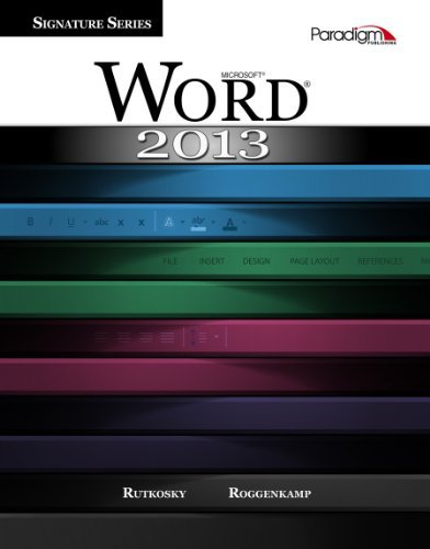 Microsoft Word 2013 W/Cd