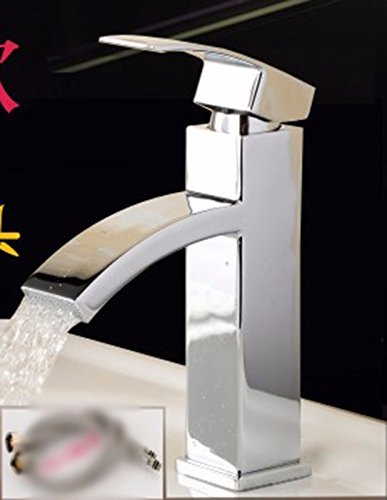 5 Hlluya Professional Sink Mixer Tap Kitchen Faucet Copper bath, wash basin, waterfalls, Single Hole, single cold, cold water faucet 16