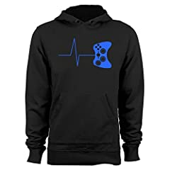 From it's cool cobalt blue graphics, to its distinctive design, here's a gaming t-shirt that will make an outstanding gift for you or that hard-to-shop-for gamer in your life.  It comes in all black with a striking blue design, and features a...