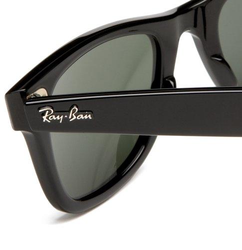 Ray Lunette 54 soleil RB2140 Wayfarer 901 de Noir mm Wayfarer 32 Ban Original aarwxqF