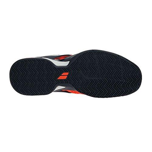 Babolat Propulse Fury Clay, Zapatillas de Tenis para Hombre Rojo (Red)