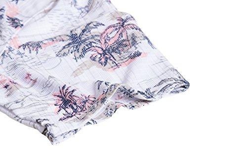 c3bbf77c Nob Hill Hawaiian Shirt Relaxed Fit Casual Short Sleeve Big Mens Button up