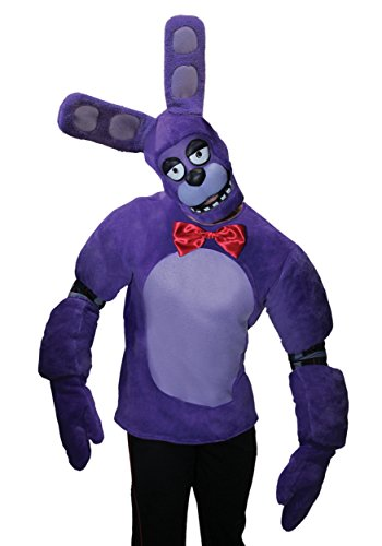 [Rubie's Costume Co. Men's Five Nights At Freddy's Bonnie, As Shown, X-Large] (Fnaf Bonnie Costume)