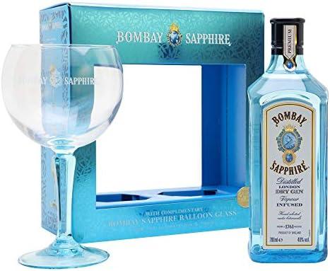 Ginebra - Gin Bombay Sapphire 70 cl. Pack edición limitada: Amazon ...