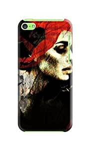 LarryToliver Migreat Gear Design Cheap unique Creative Collage Arts For Girl Background image Logo iphone 5c Plastic Hard Cover Case #3