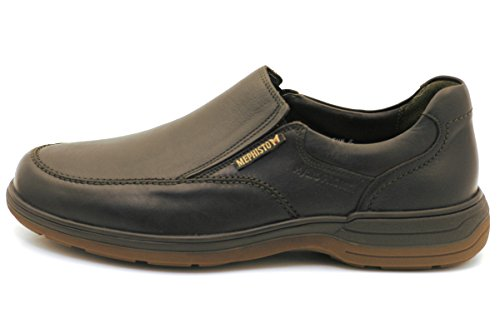 Mocassins Slippers MEPHISTO Homme Brown Dark DAVY 5qnaczaAU