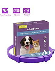 Calming Collar for Cats and Dogs, Pheromone Anti-Anxiety Calm Collars, Adjustable Reduce Relieve Anxiety Pheromone Keep Pet Long Lasting Natural Calm, Safe and Waterproof Calm Collar (24 inch for Dog)