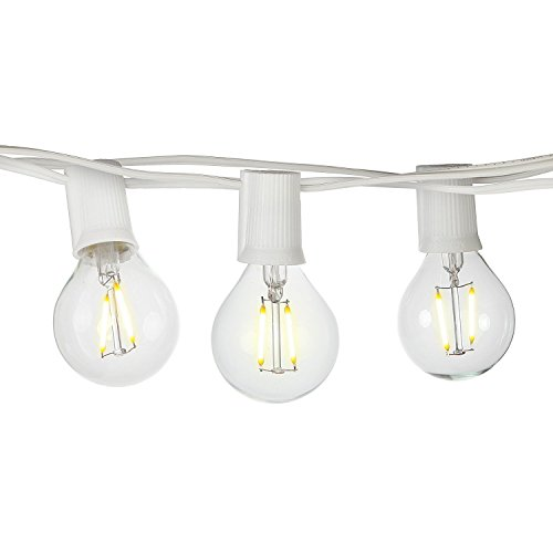 Clear Led Filament String Lights - 2