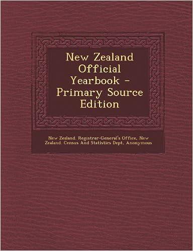 Gratis bøger download pdf fil New Zealand Official Yearbook - Primary Source Edition in Danish PDF FB2 iBook