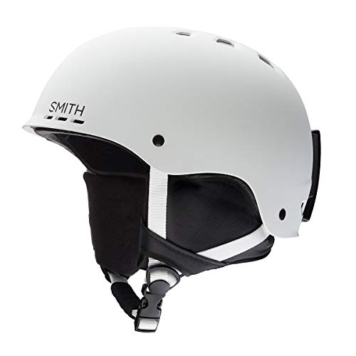 Adult Helmet Matte - Smith Optics Unisex Adult Holt Snow Sports Helmet - Matte White Medium (55-59CM)