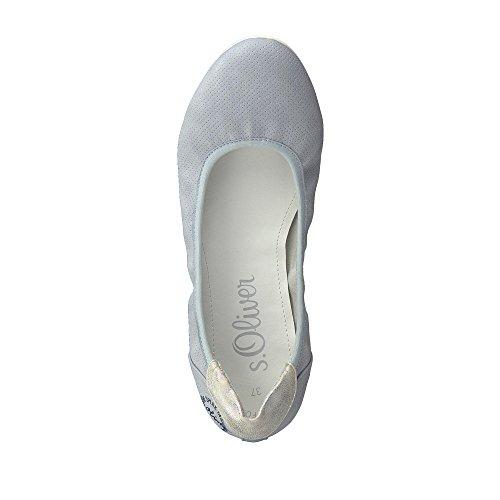 S. Oliver Shoes Woms Ballerina Denim